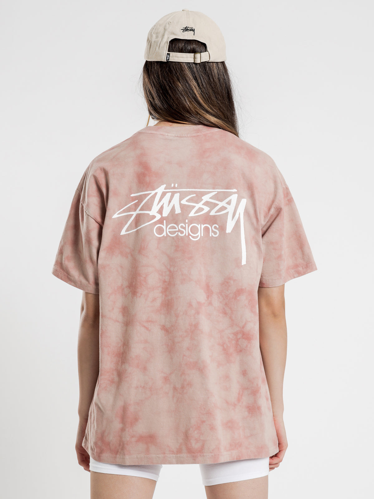 Designs Marble T-Shirt in Blush