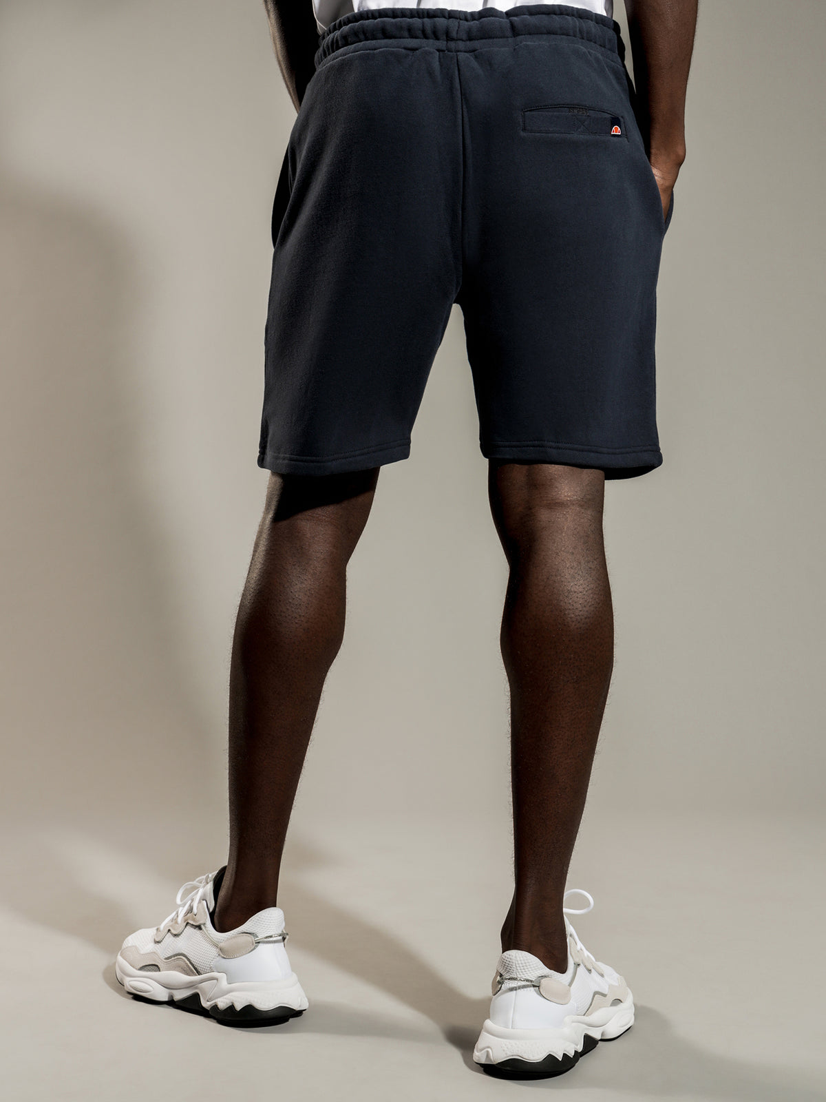 Bossini Fleece Shorts in Navy