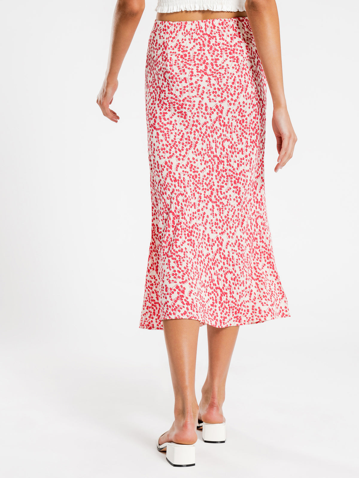 Neve Floral Midi Skirt in Floral