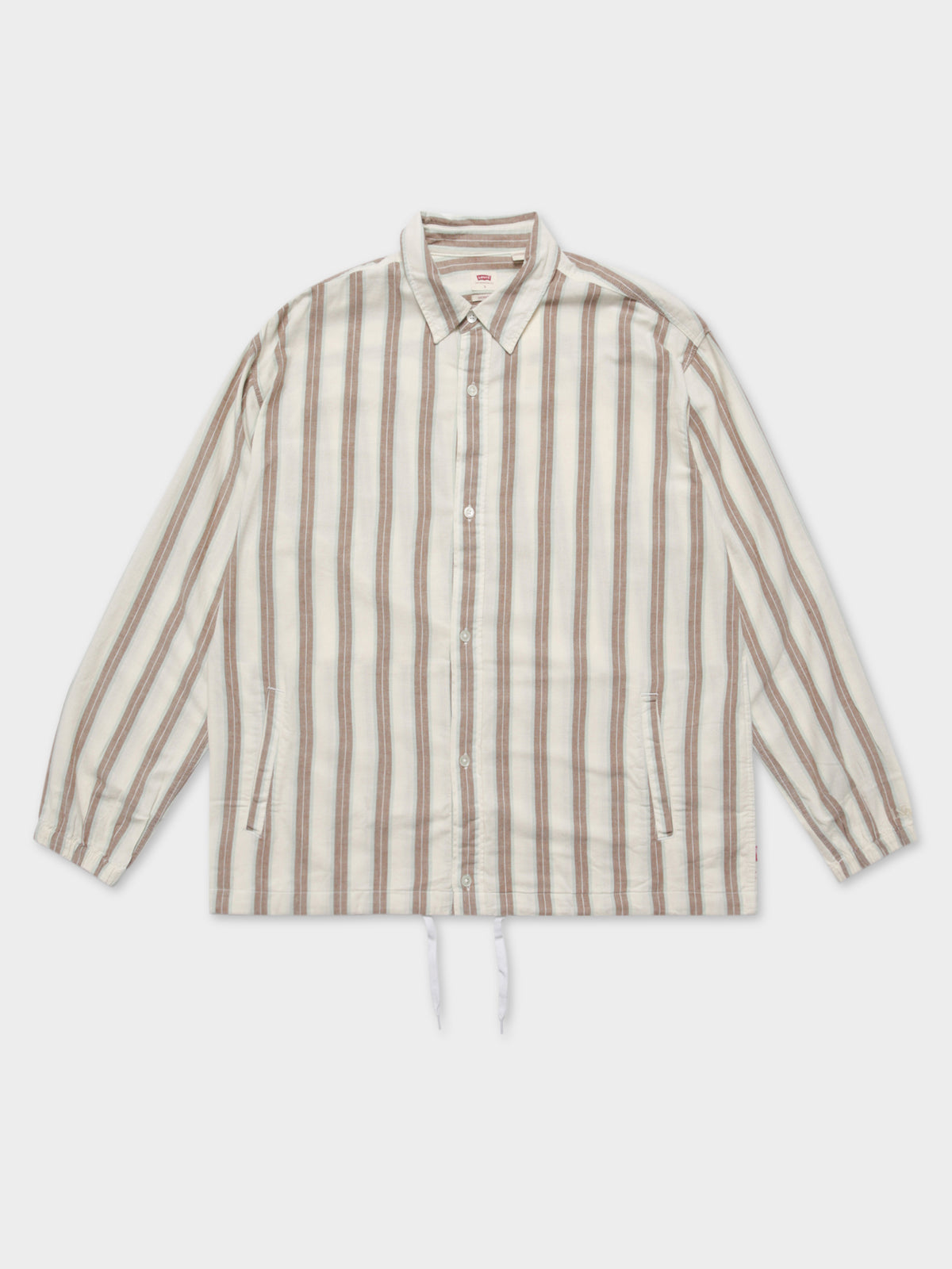 Coaches Hybrid Shirt in Demantoid Tofu