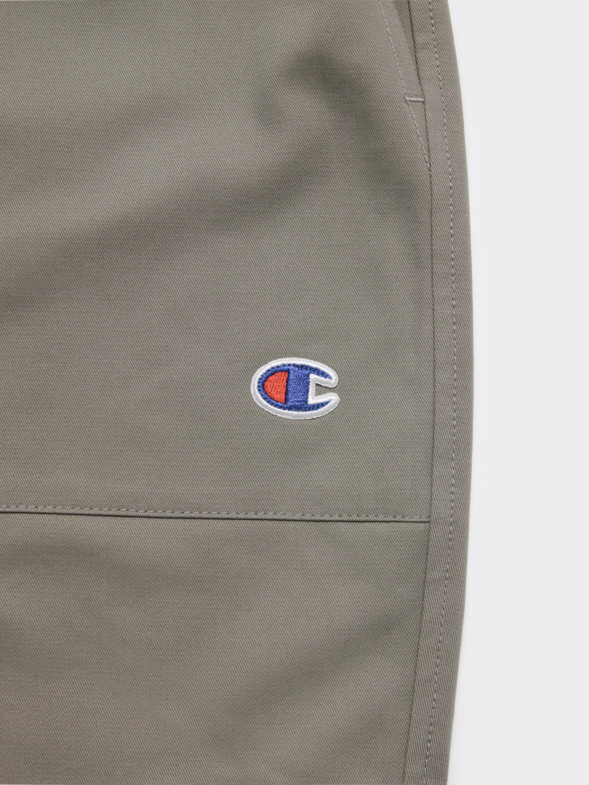Twill Short in Light Khaki