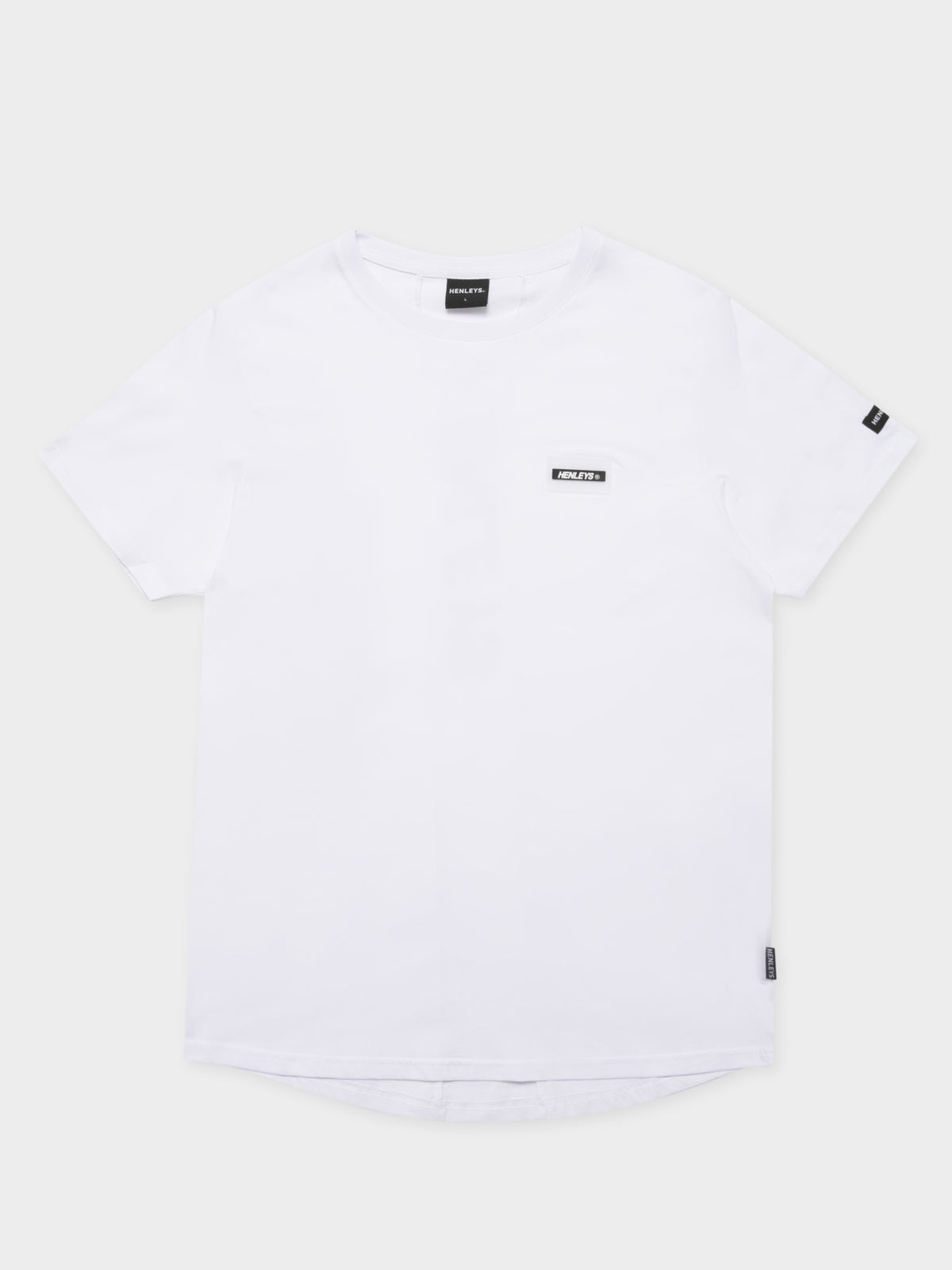 Marker Loose T-Shirt in White