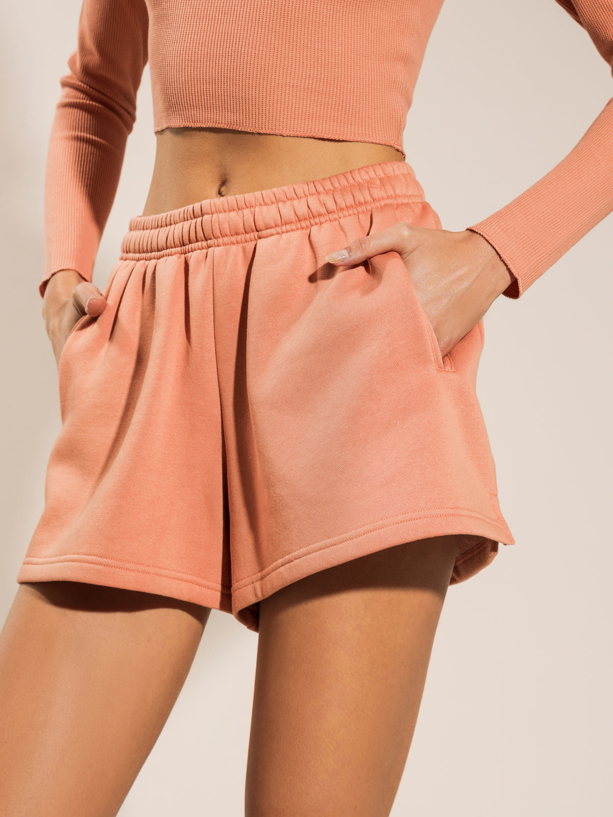 Carter Classic Short in Terracotta