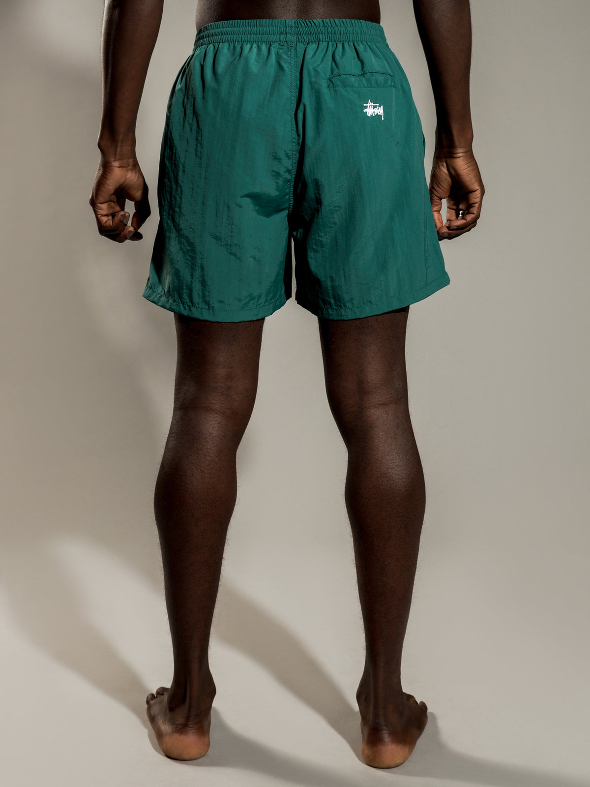 Nylon Big Beachshorts in Ocean Green
