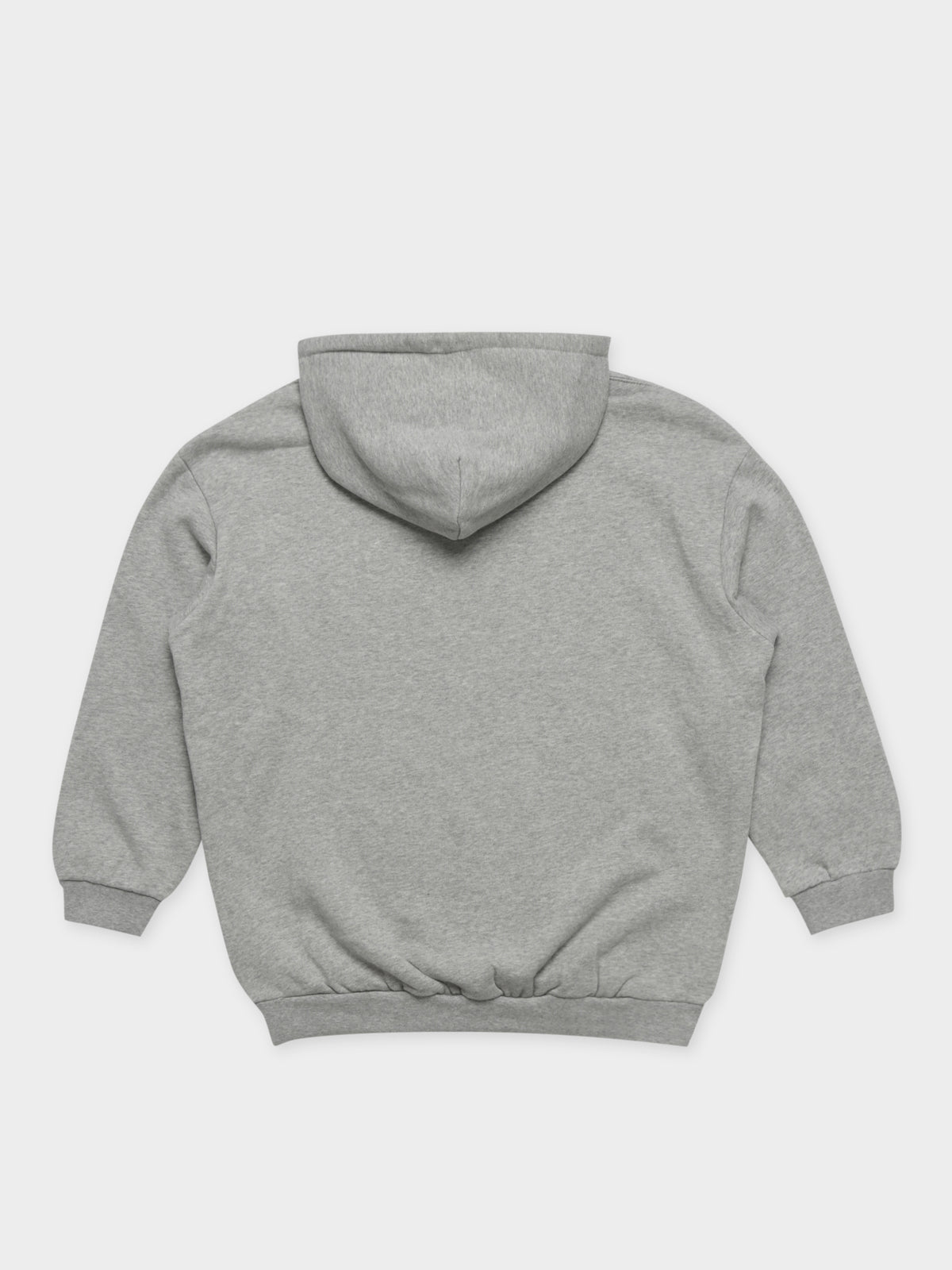 World League Oversized Boyfriend Hoodie in Grey Marle