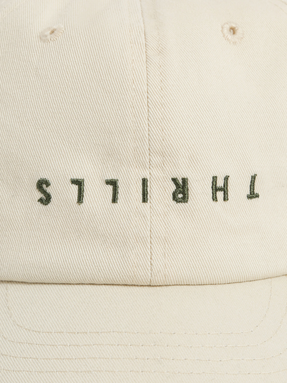 Minimal Thrills Cap in Thrift White