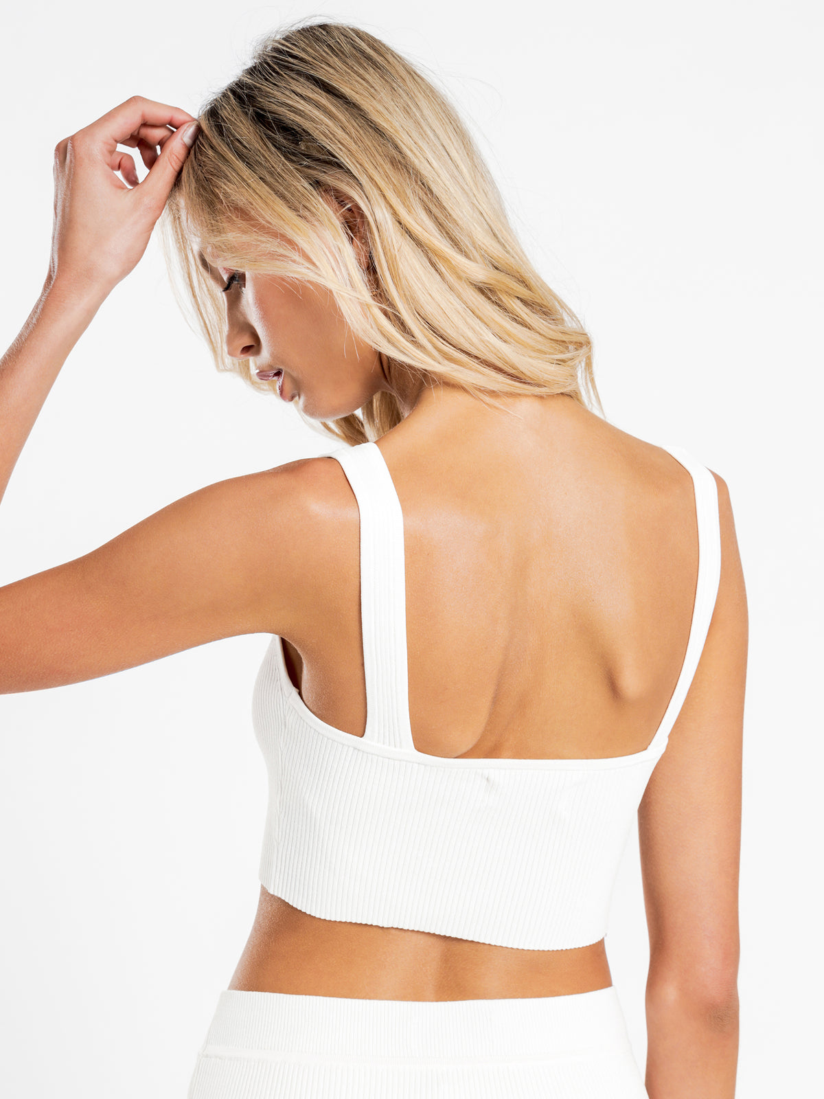 Lola Knit Cami in Off White