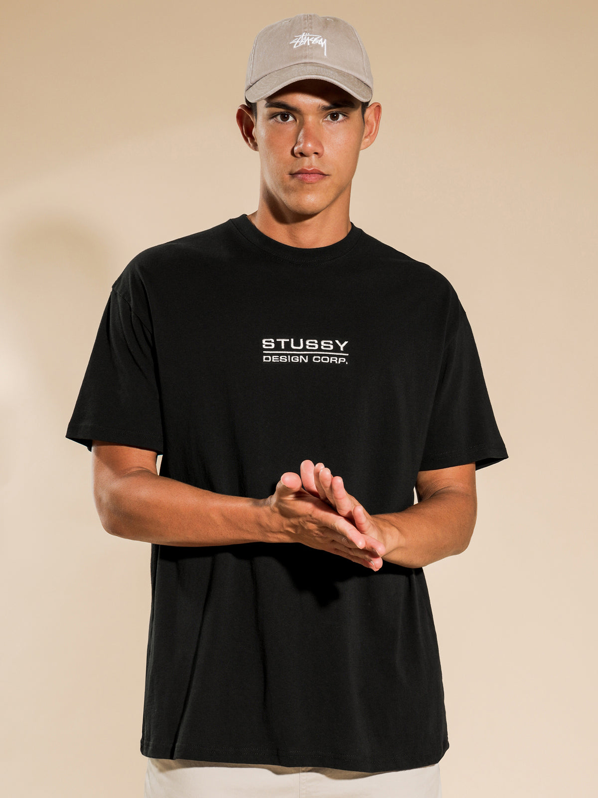 Corp Short Sleeve T-Shirt in Black