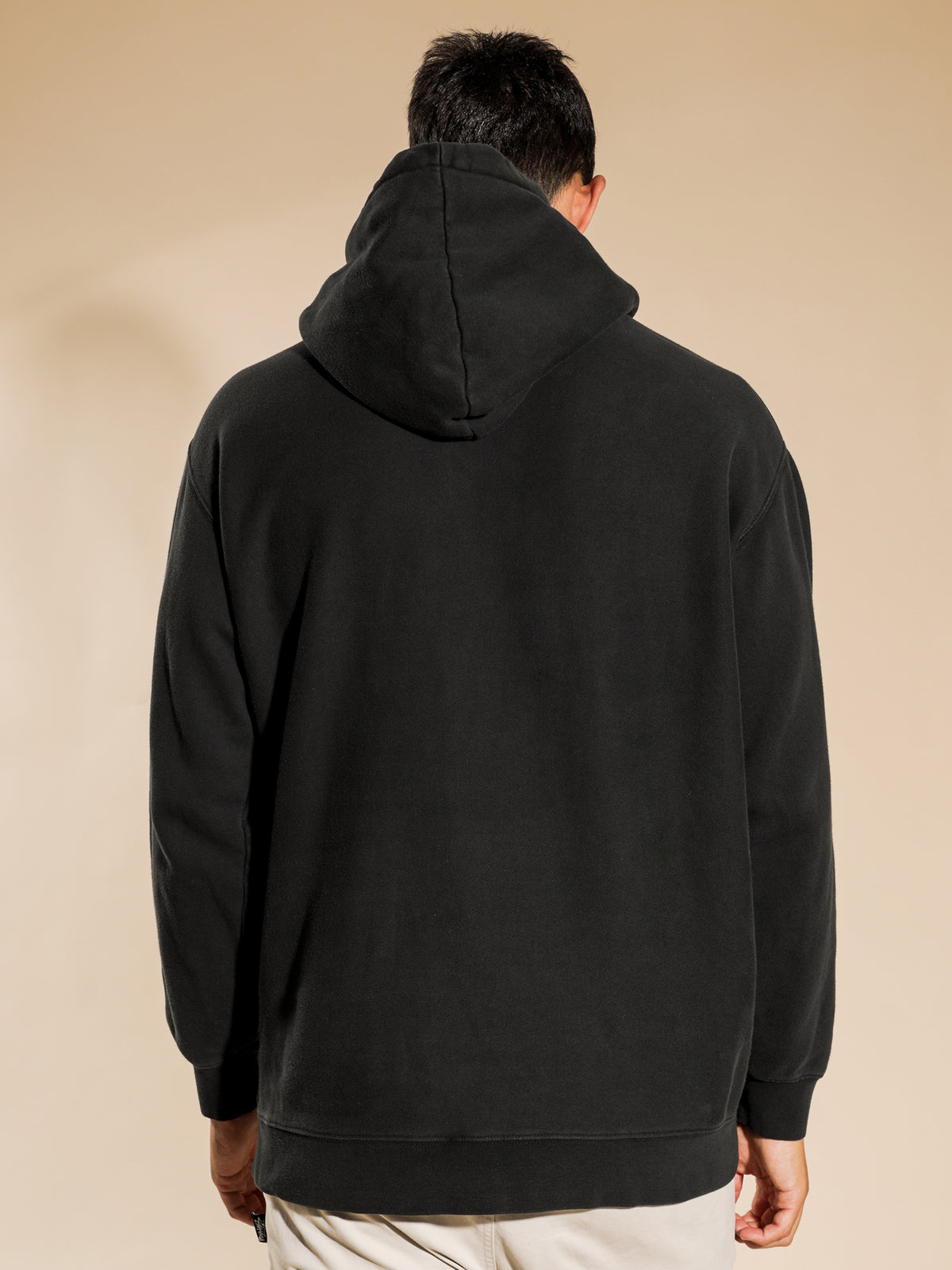 Stock Hood in Pigment Black