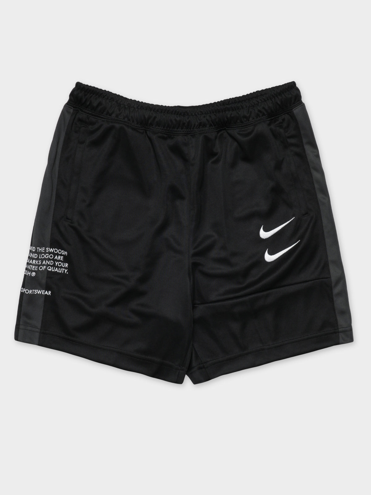 NSW Swoosh Shorts in Black