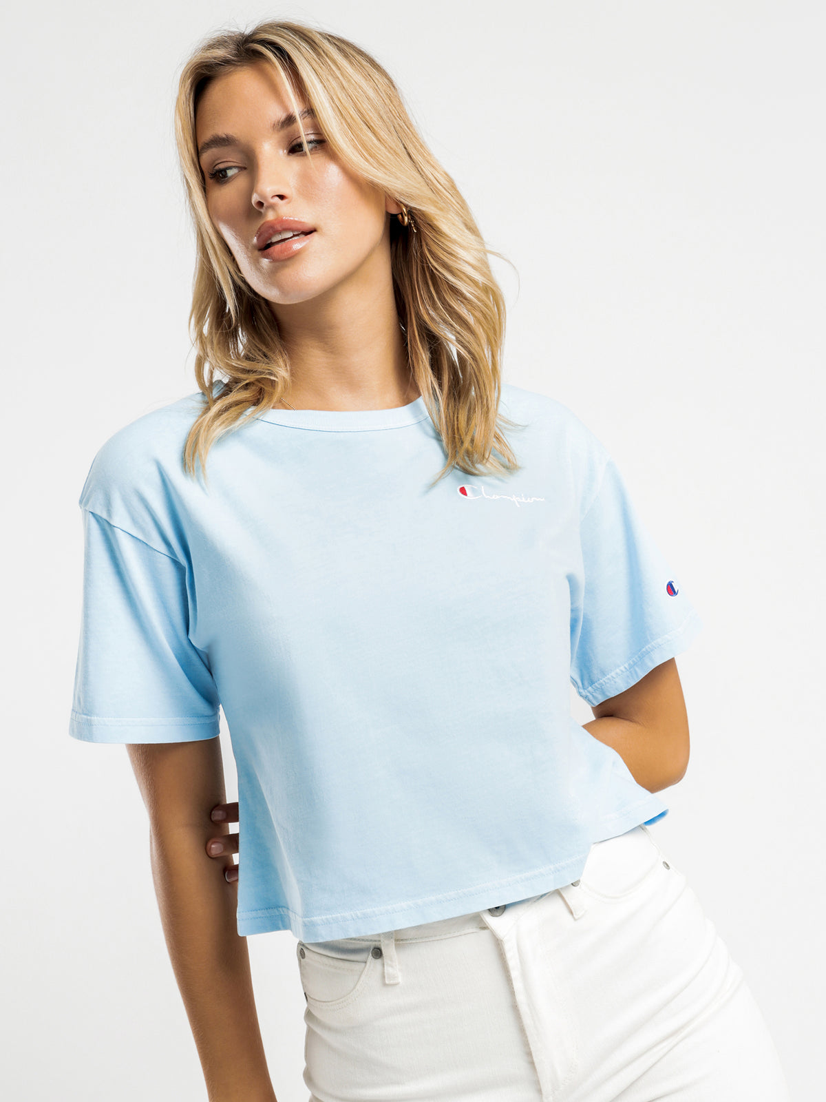 Vintage Dye T-Shirt in Candid Blue
