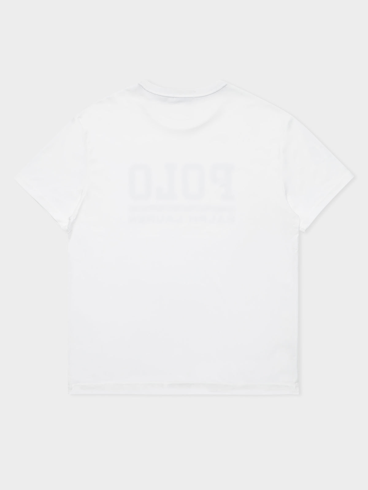 Polo Logo T-Shirt in White