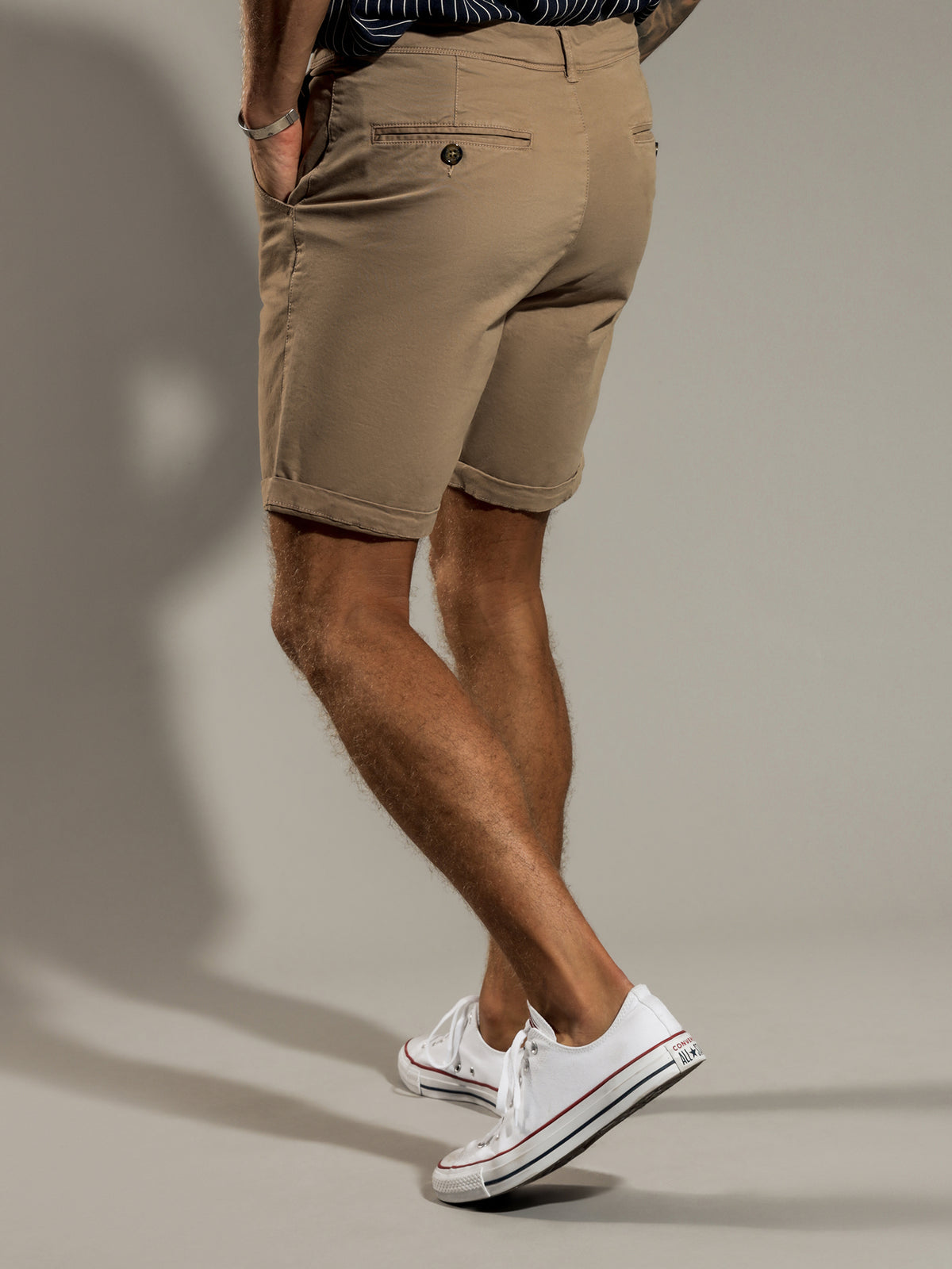 Cooper Chino Shorts in Sesame