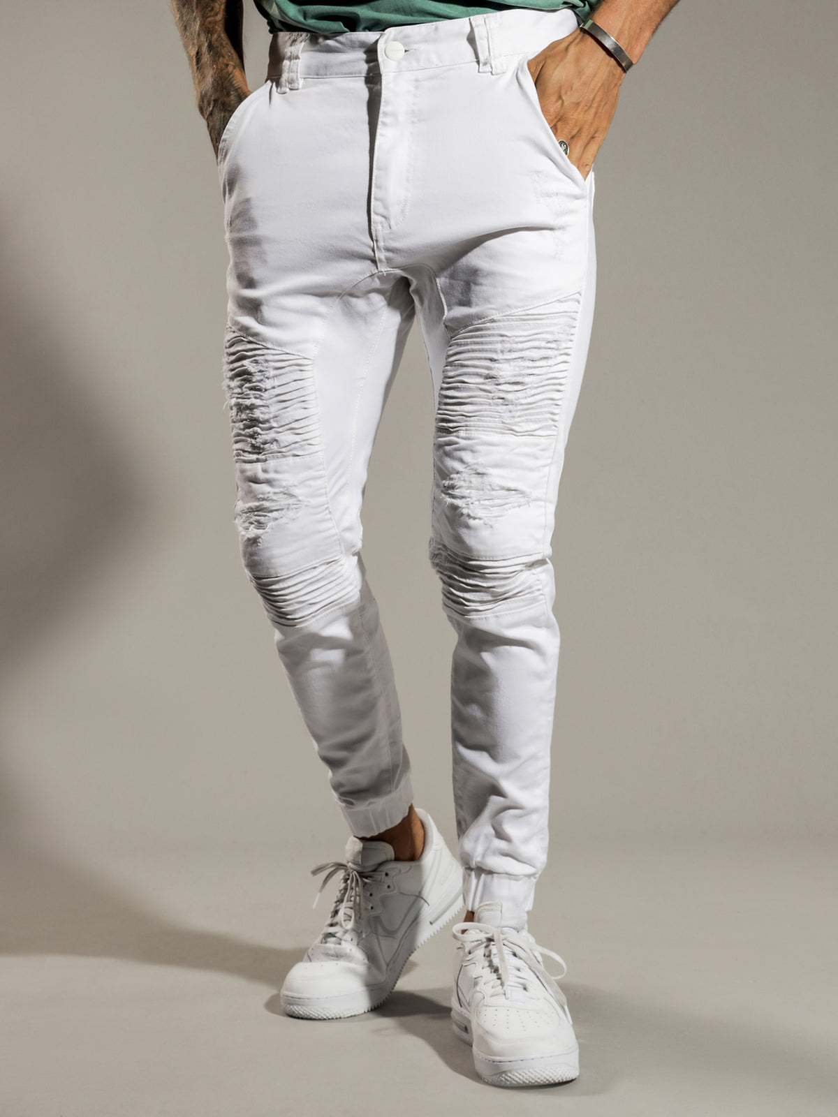 Hellcat Pants in White