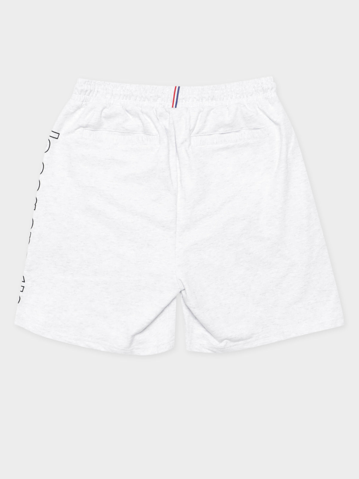 Monaco Fleece Shorts in Snow Marle