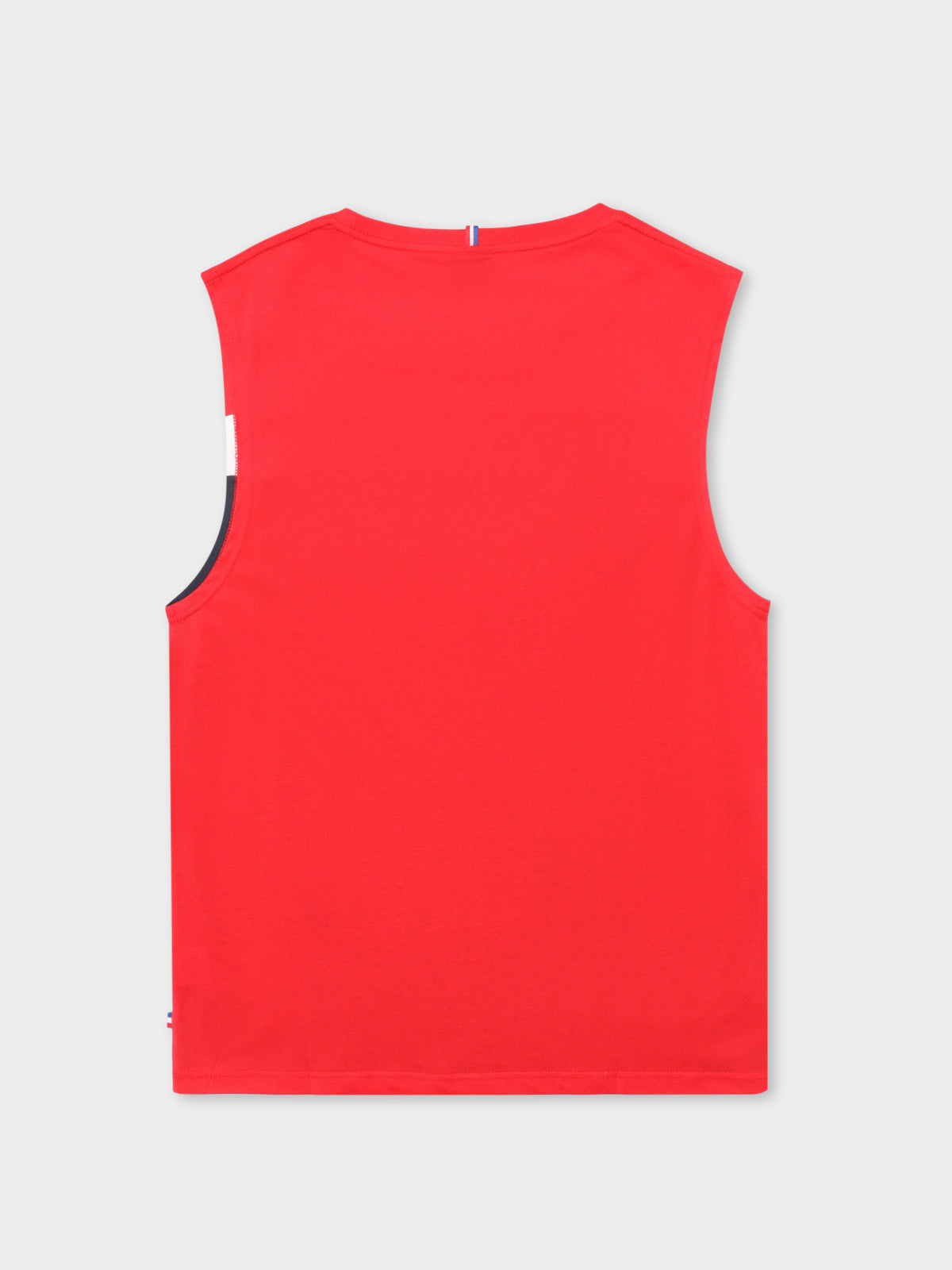 Delon Muscle T-Shirt in Rouge Red