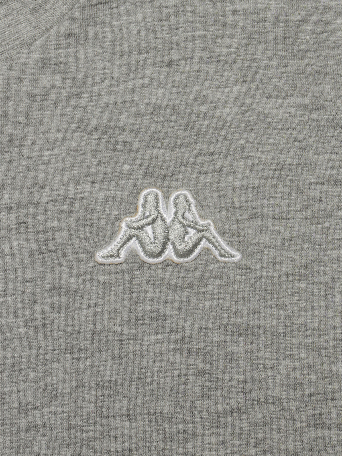 Logo Fleece Caferok T-Shirt in Grey