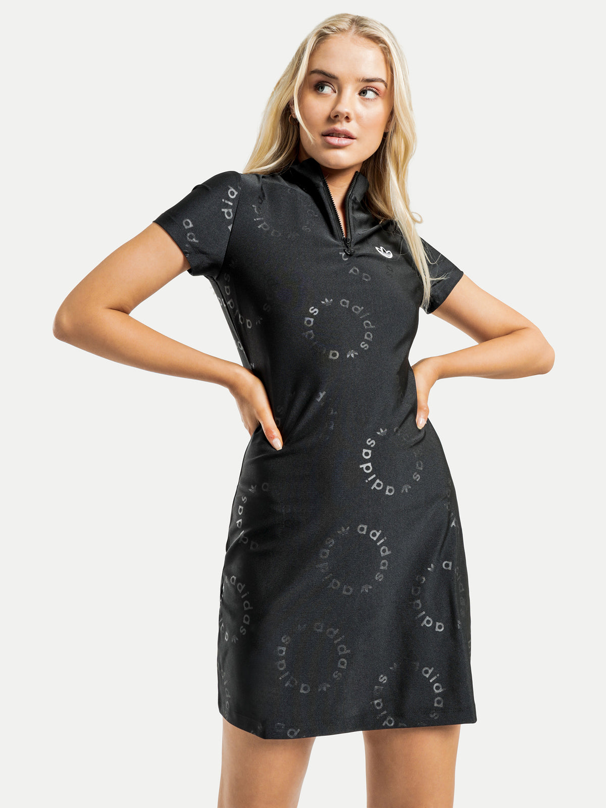 Short Sleeve Dress in Black