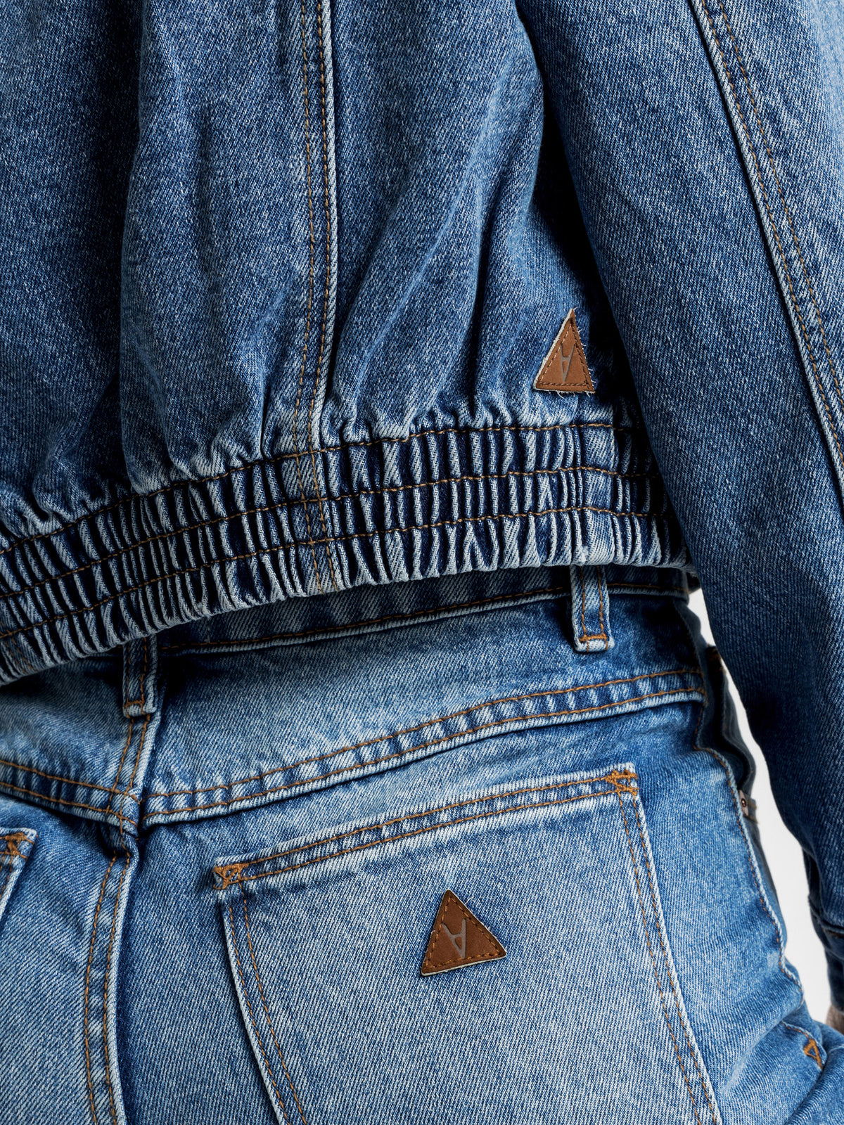 Millie Denim Jacket in Austin Blue
