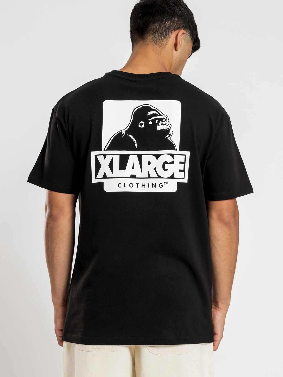 91 Text T-Shirt in Black
