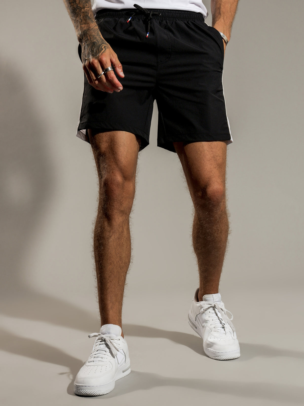 Pigalle Swim Shorts in Black