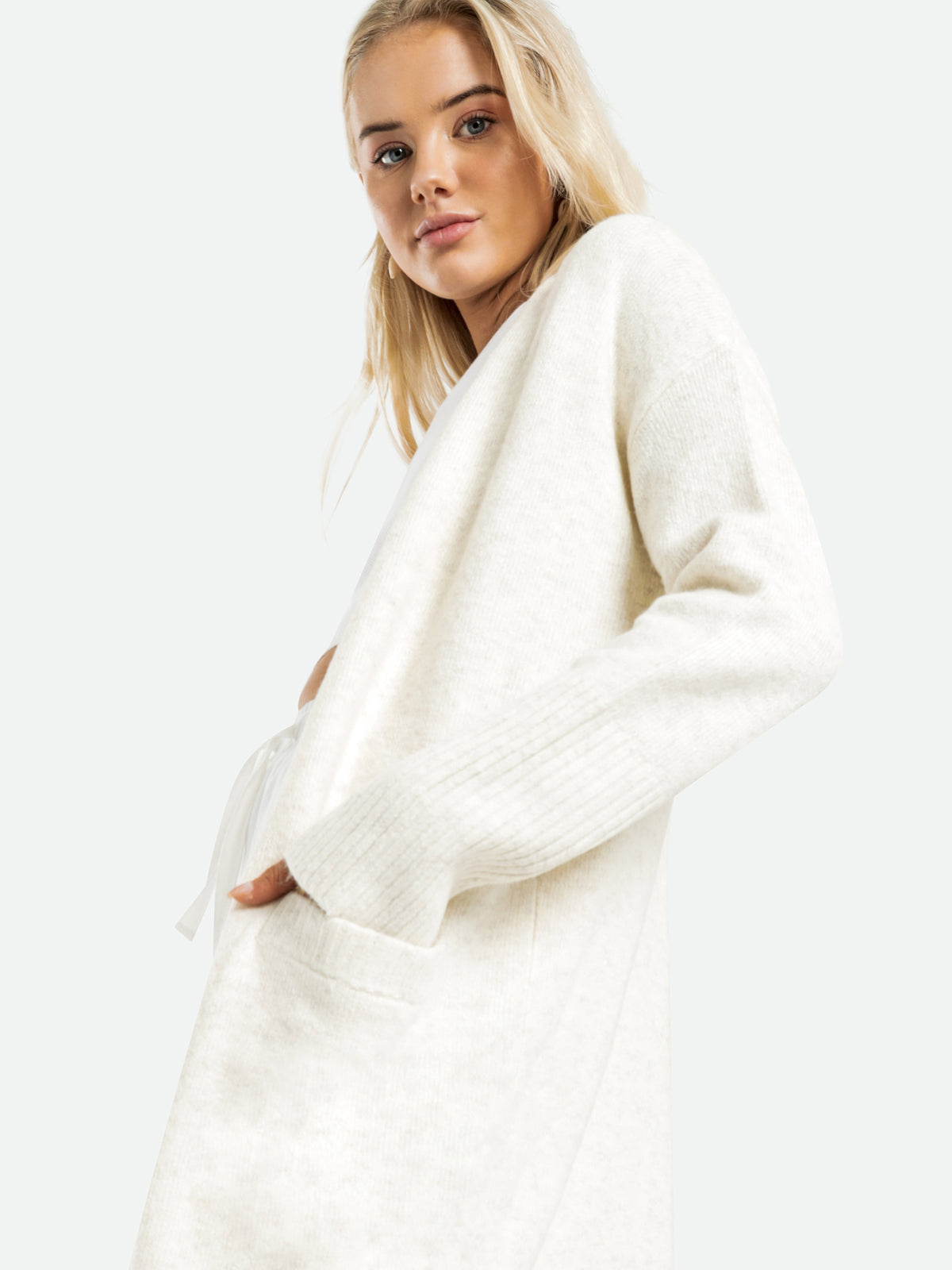 Avery Cardigan in Cream