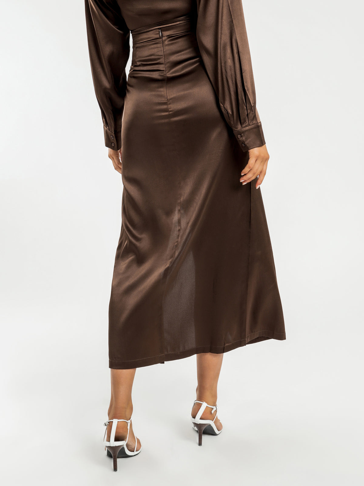 Mileshka Skirt in Chocolate