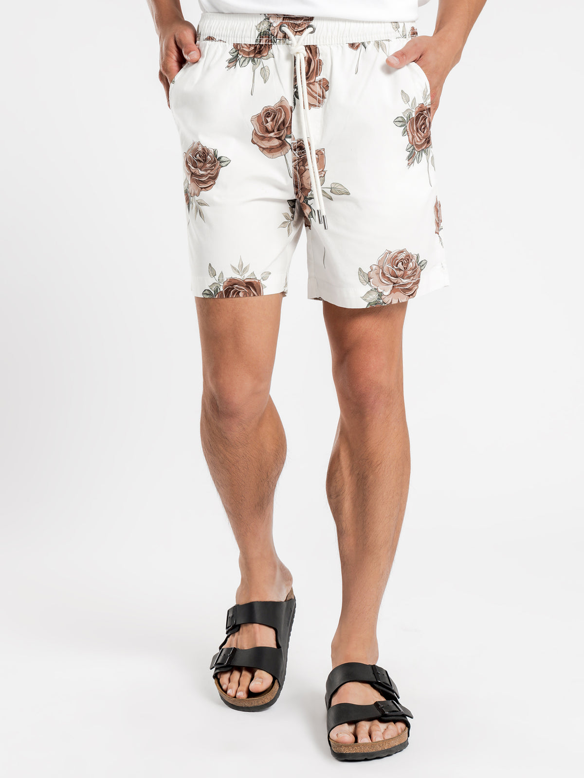 Havana Shorts in Ecru