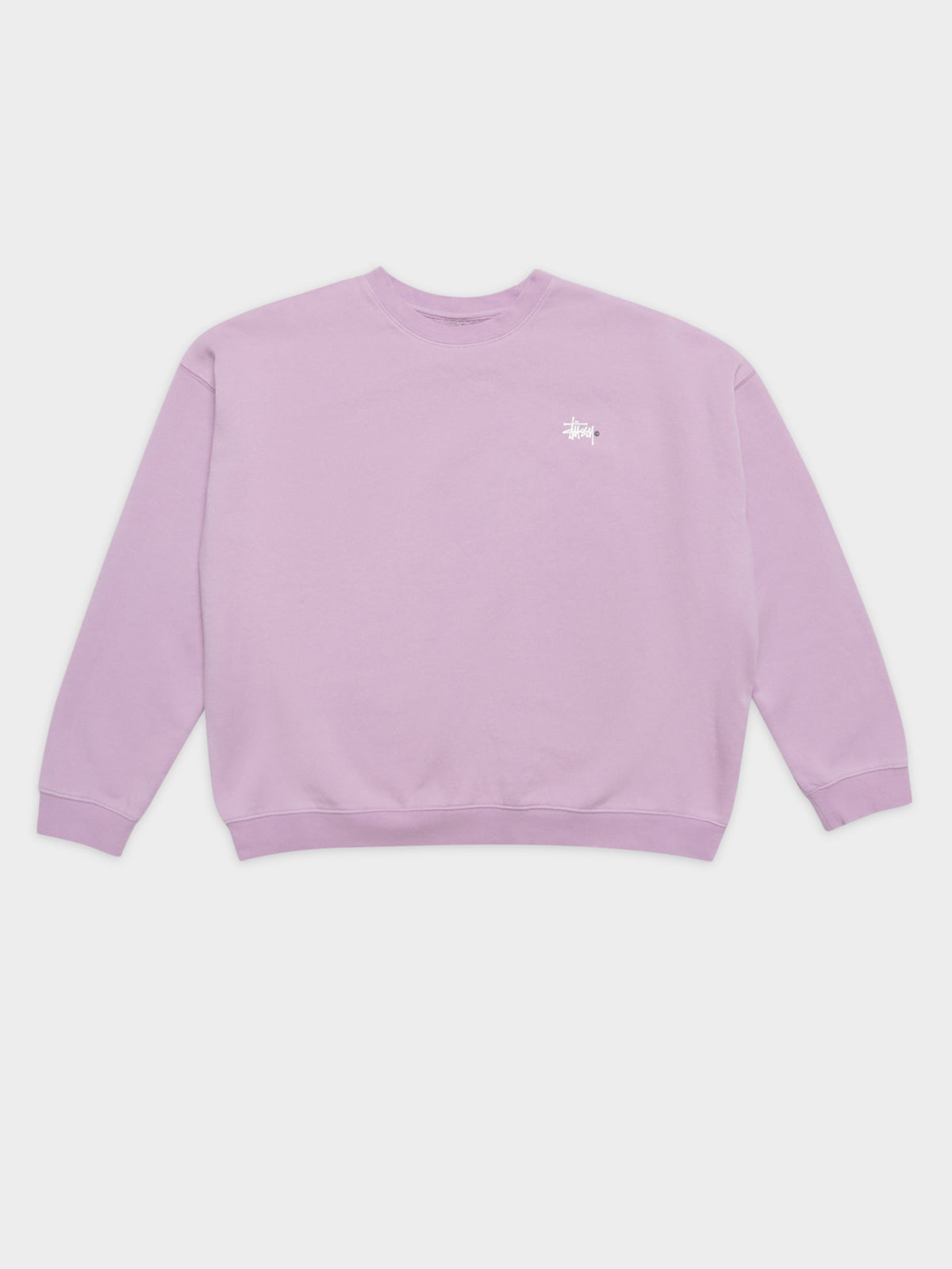 Pigment Recycled Crew in Lilac