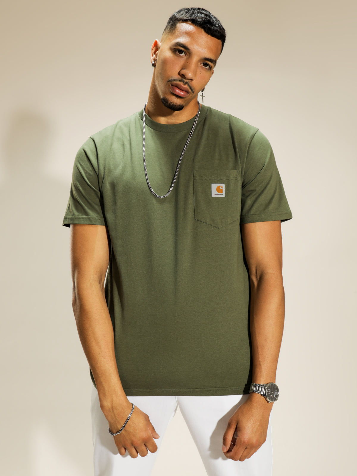 Short Sleeve T-Shirt in Dollar Green