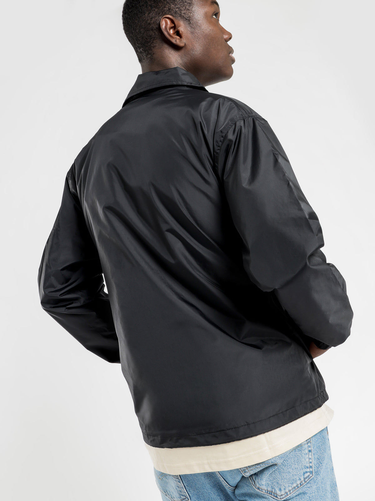 Script Coach Jacket in Black