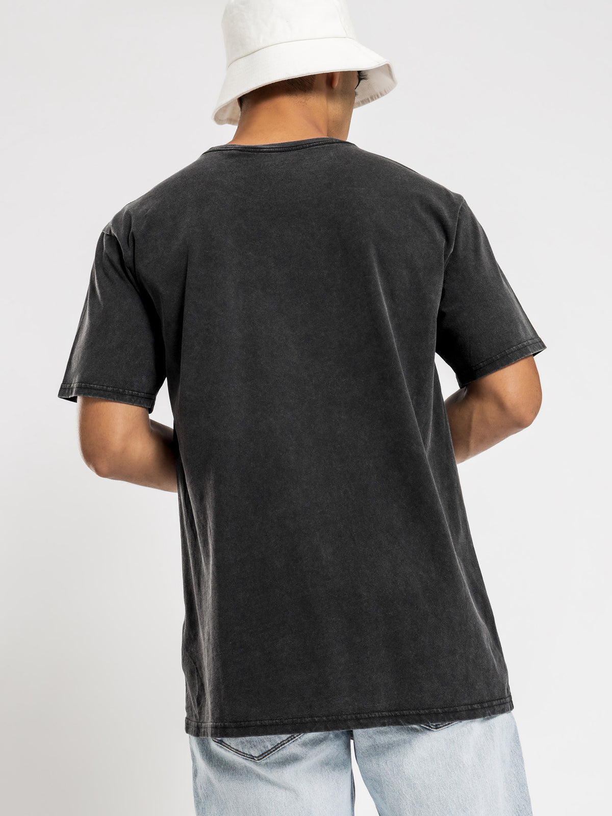 Metal T-Shirt in Washed Black