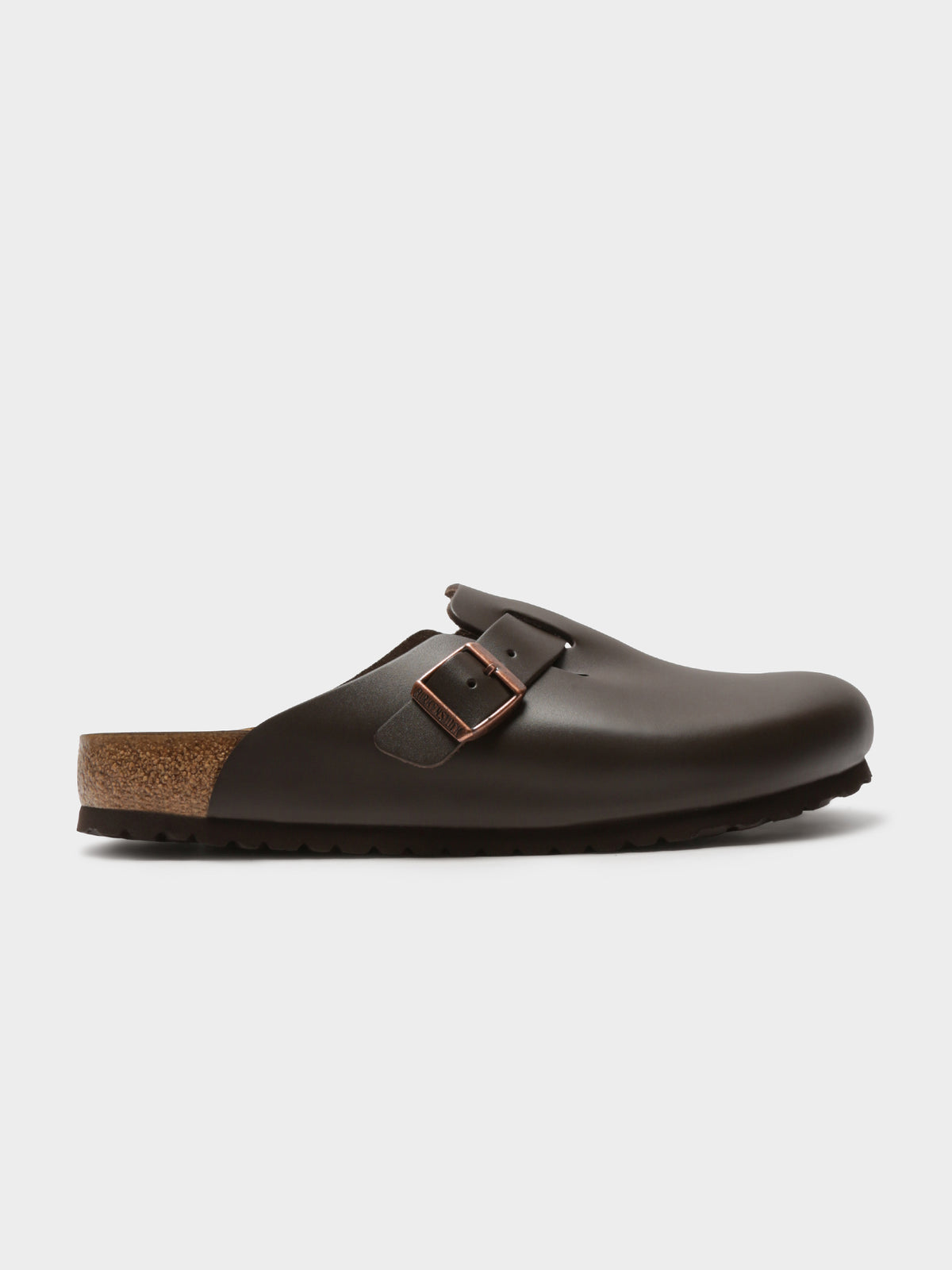 Unisex Boston Slip-Ons in Dark Brown