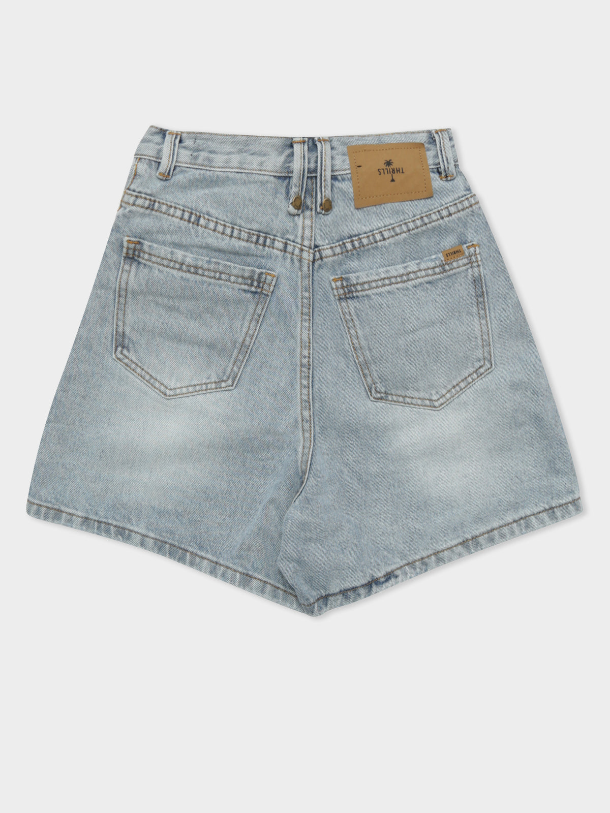 Koko Denim Shorts in Time Worn Blue