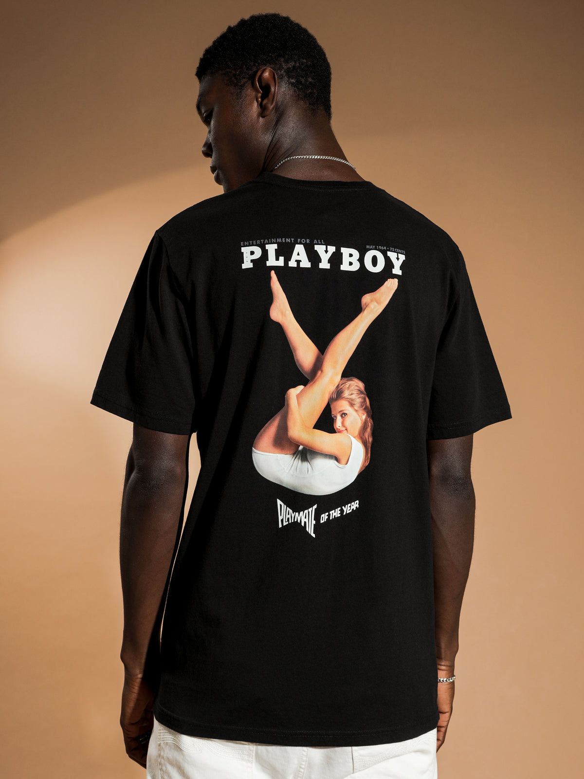 Playboy May 1964 T-Shirt in Black