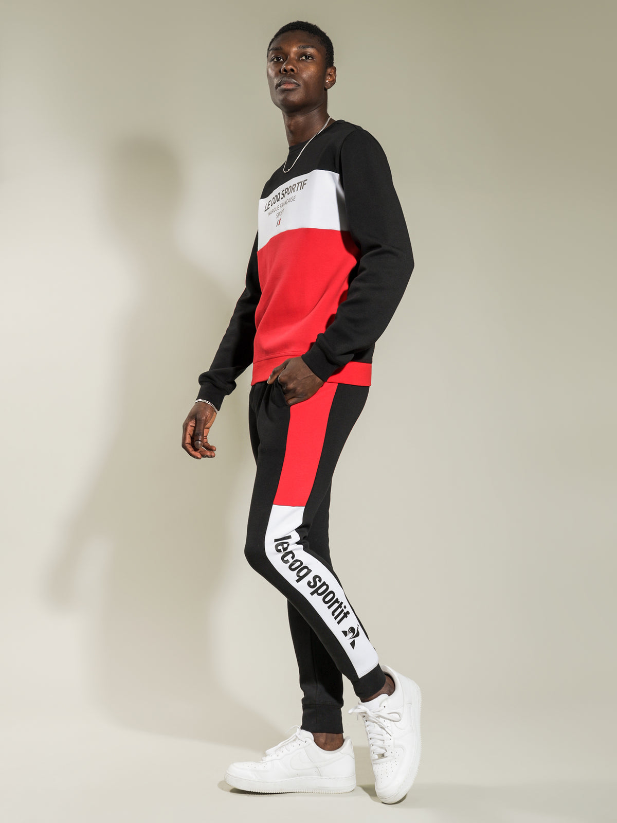 Georges Track Pant in Black