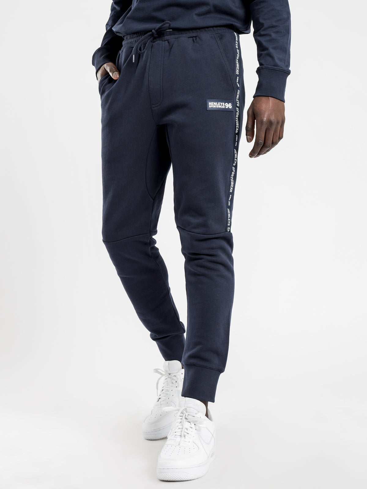 Atkins Track Pants in Navy
