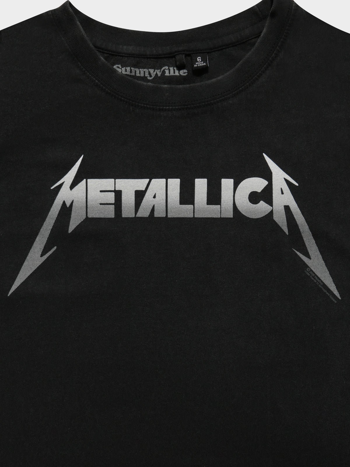Metal T-Shirt in Black