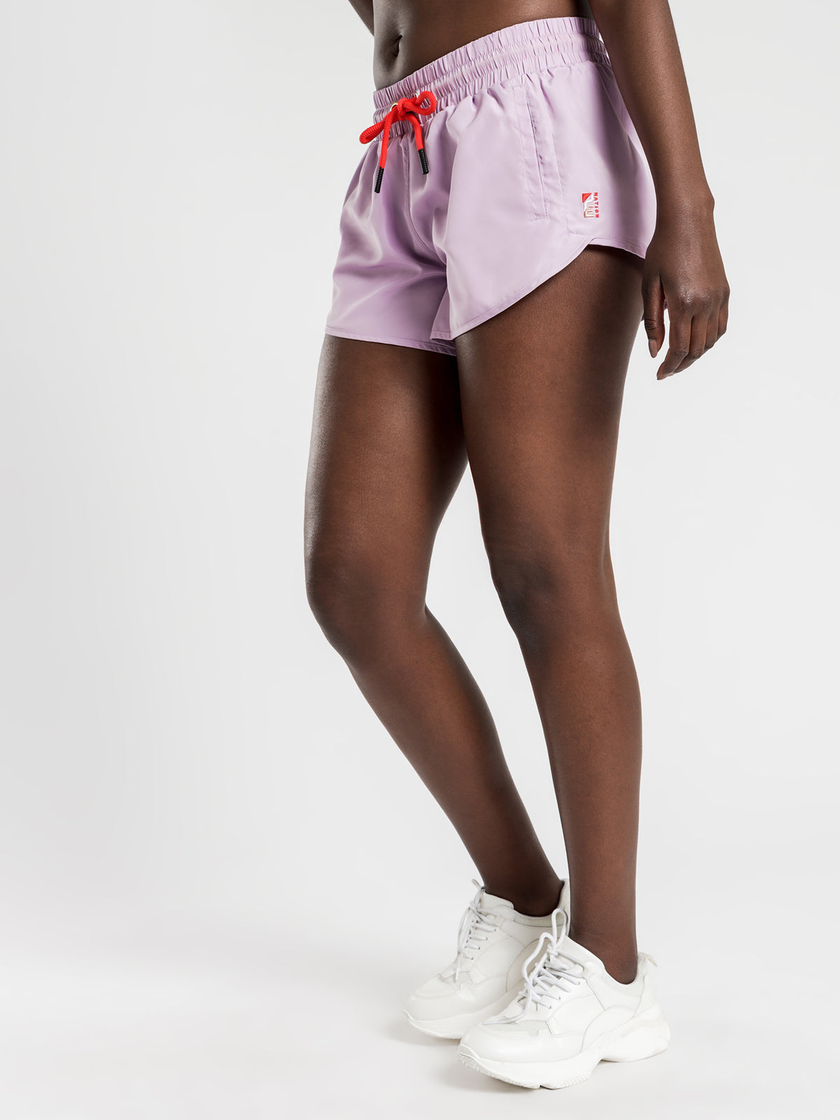 Double Drive Shorts in Lilac
