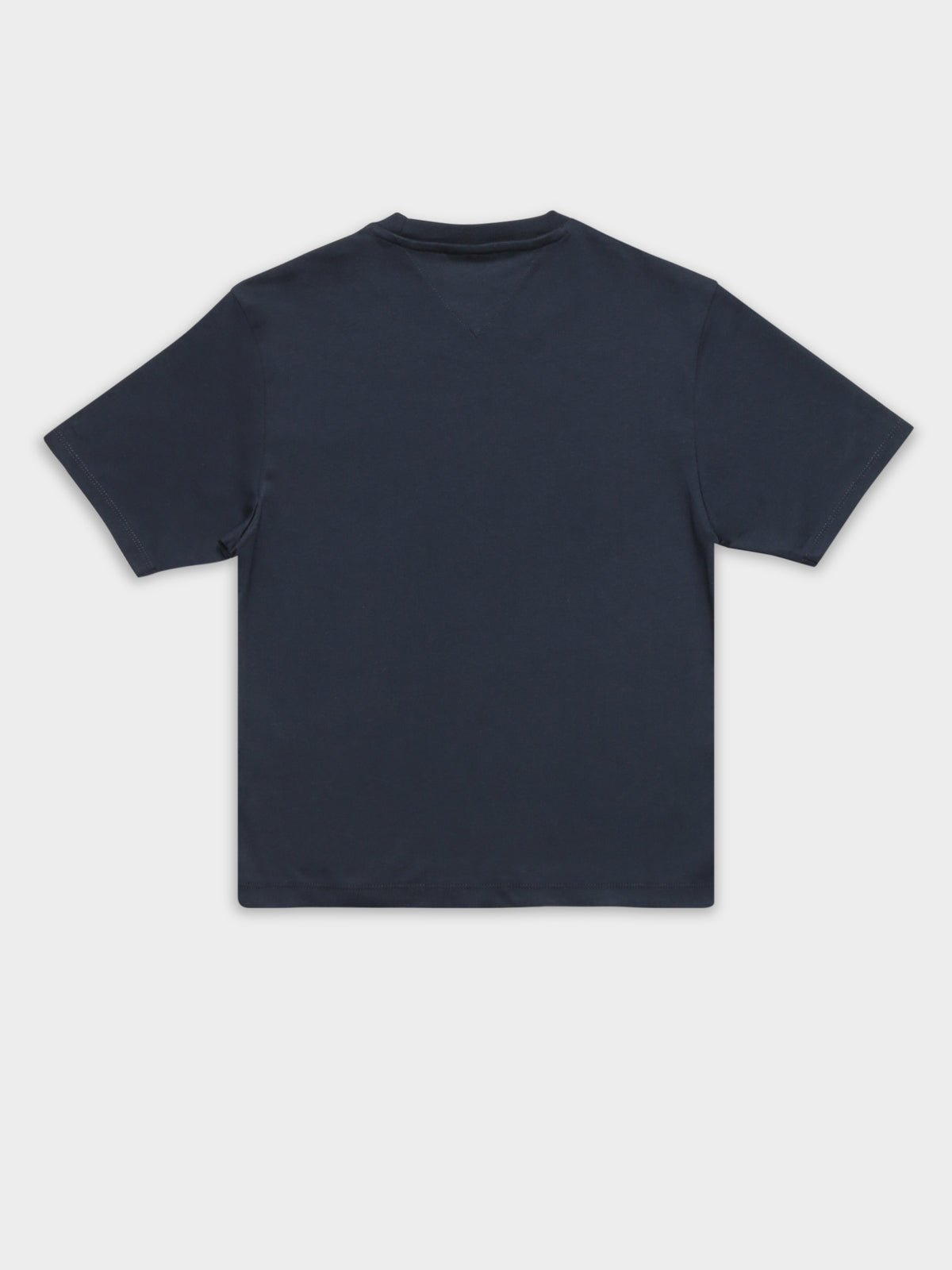 Tommy Flag Short Sleeve T-Shirt in Twilight Navy