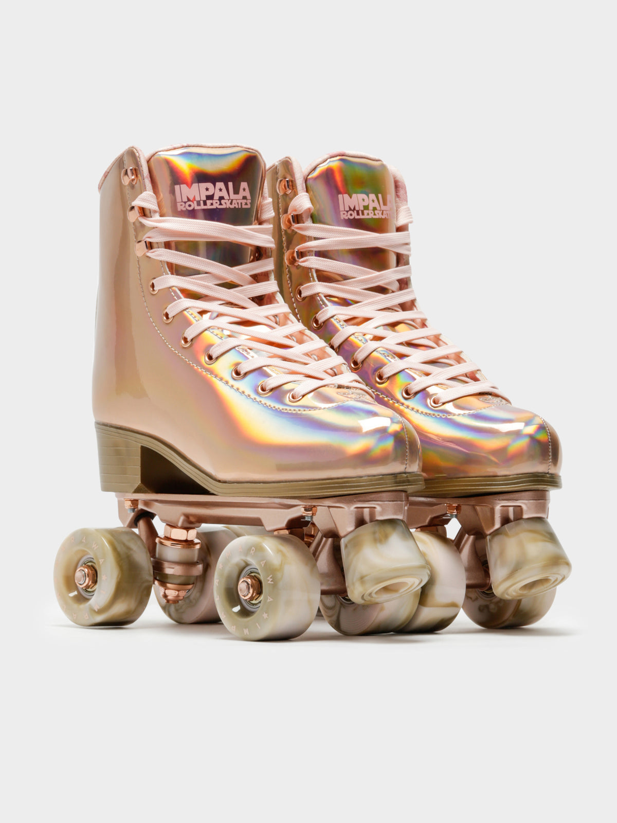 Quad Rollerskates in Marawa Rose Gold