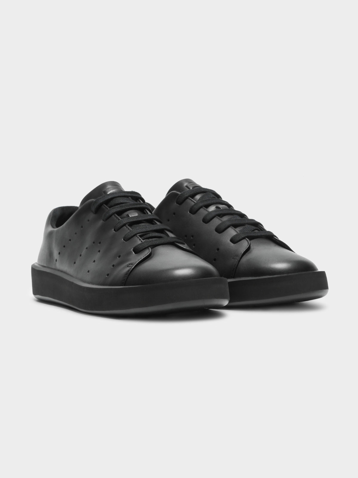 Mens Courb Sneakers in Black