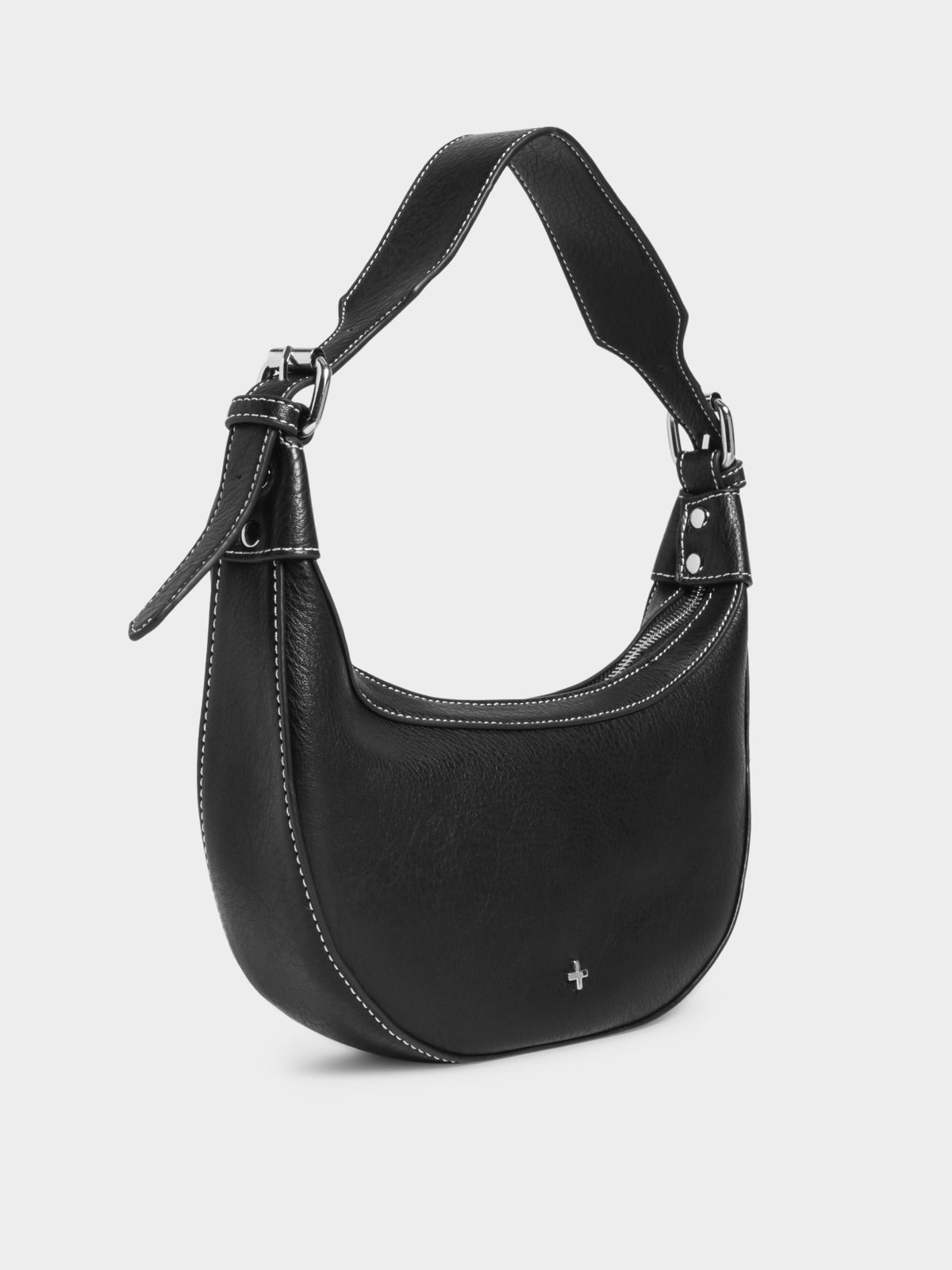 Kaley Hobo Handbag in Black