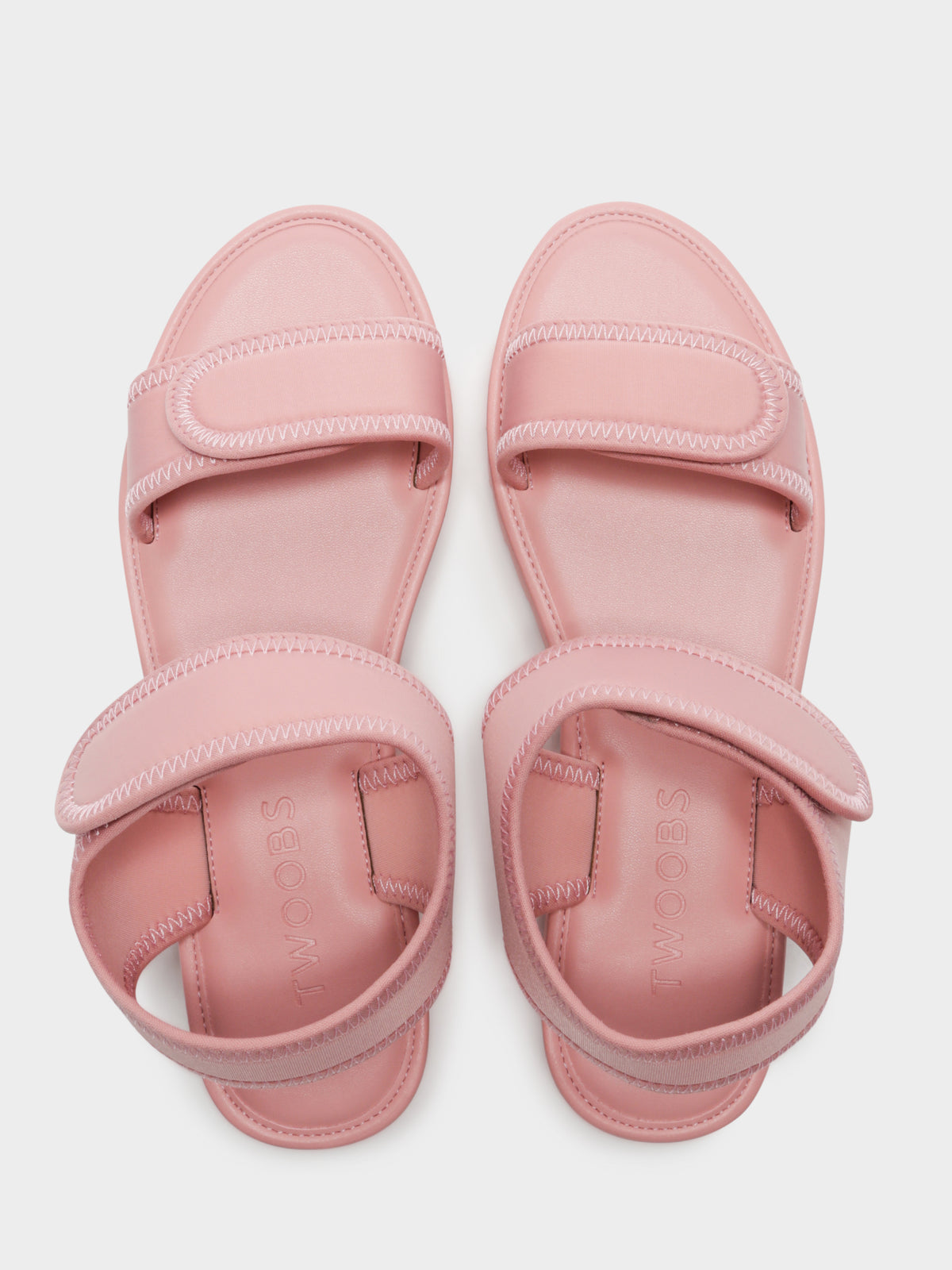 Womens Olivia Savannah Neoprene Sandals in Light Pink