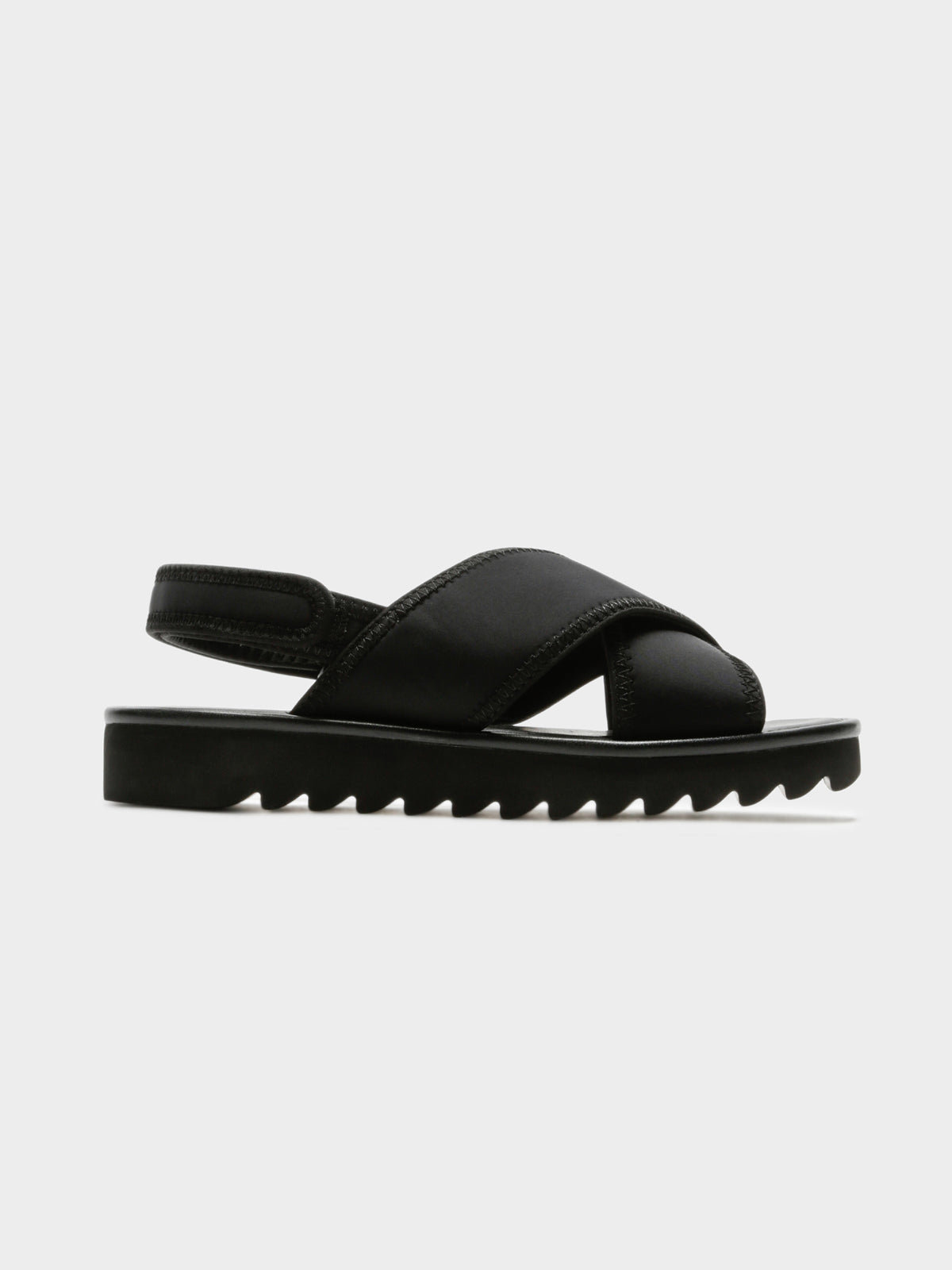 Womens Tema Sandals in Black