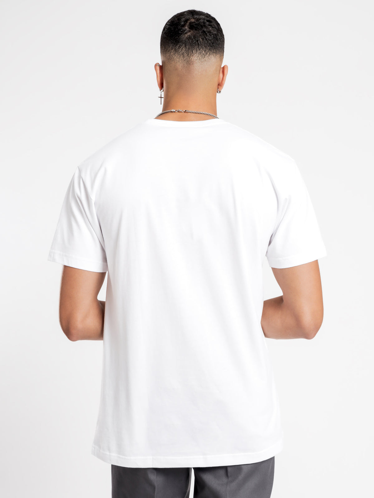 Duro Classic Fit Short Sleeve T-Shirt in White