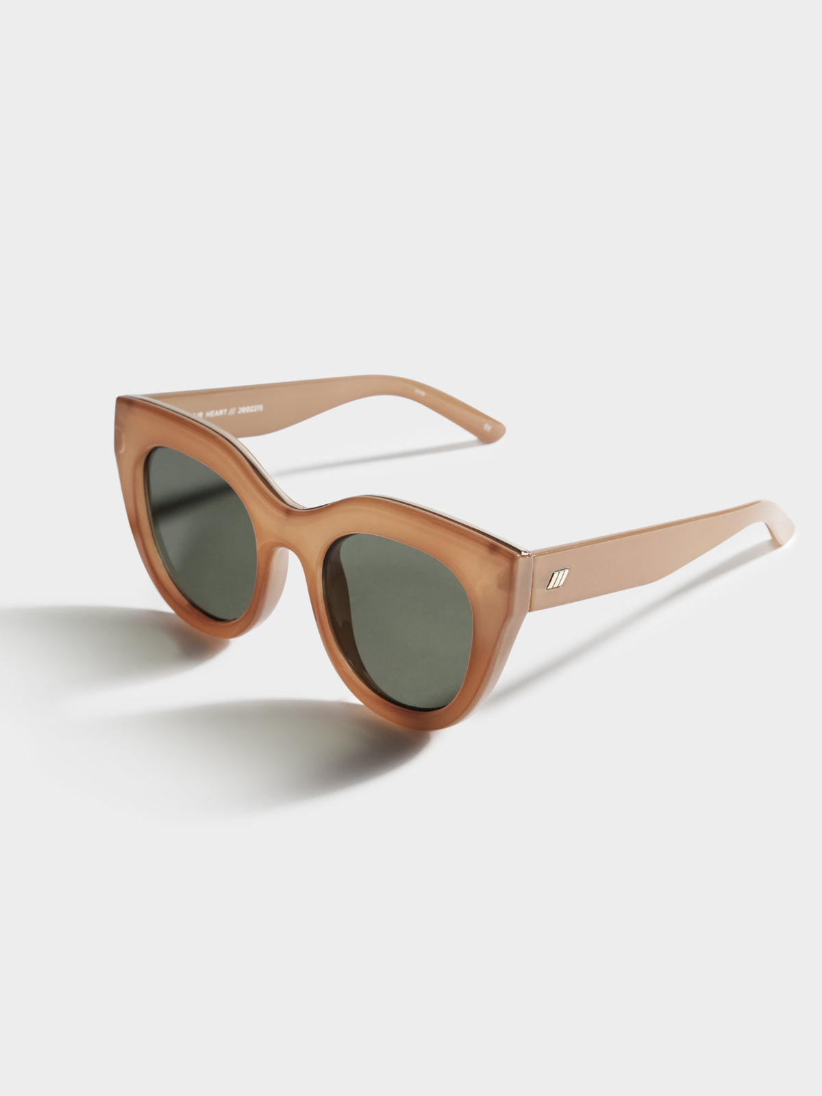 Air Heart Sunglasses in Caramel