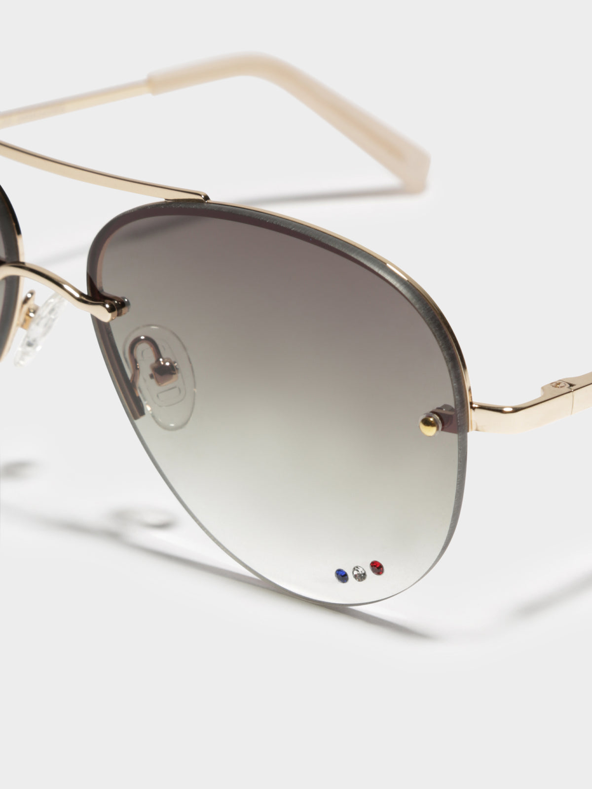 Panarea Sunglasses in Gold