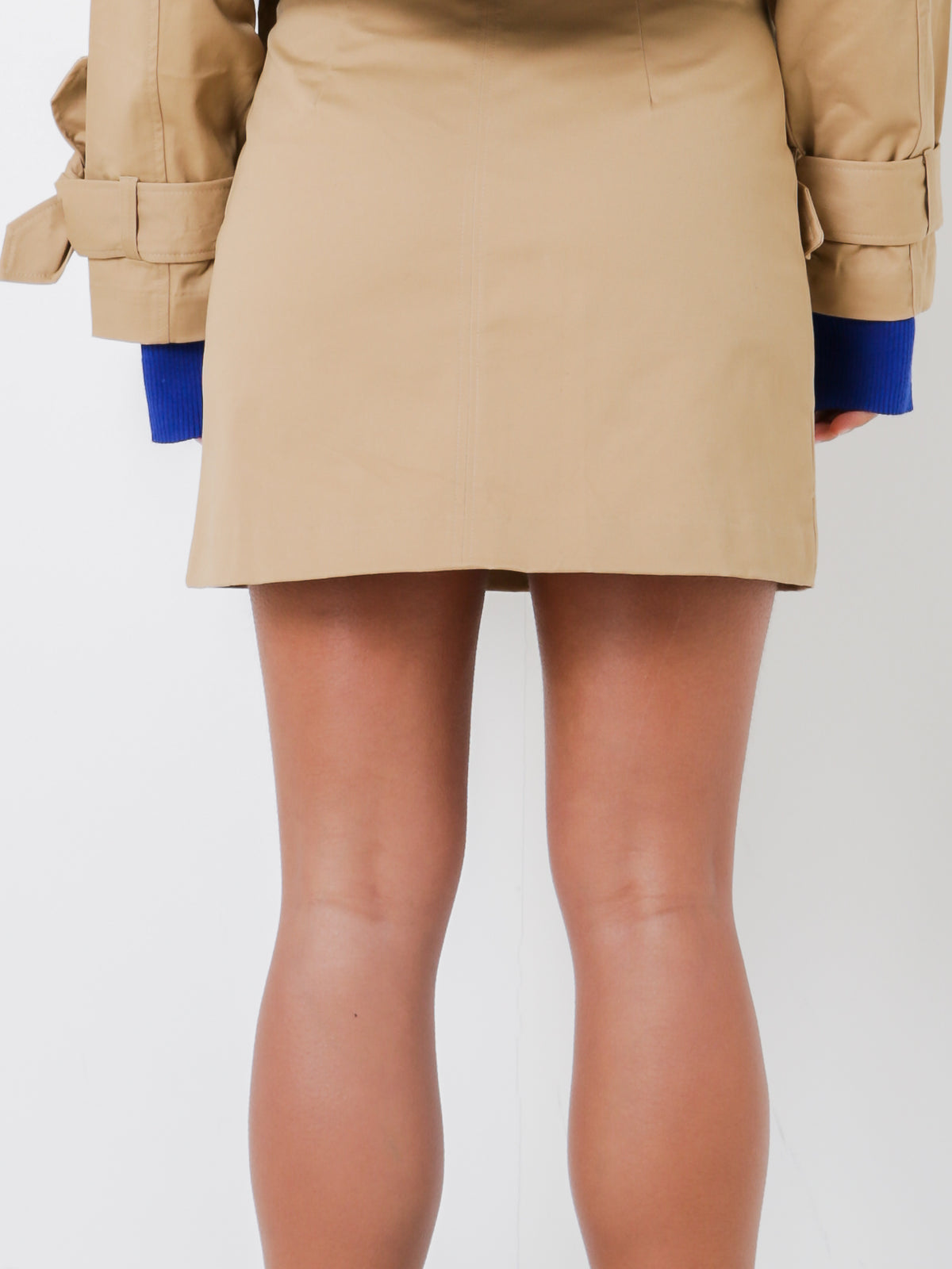 Willow Canvas Skirt in Tan