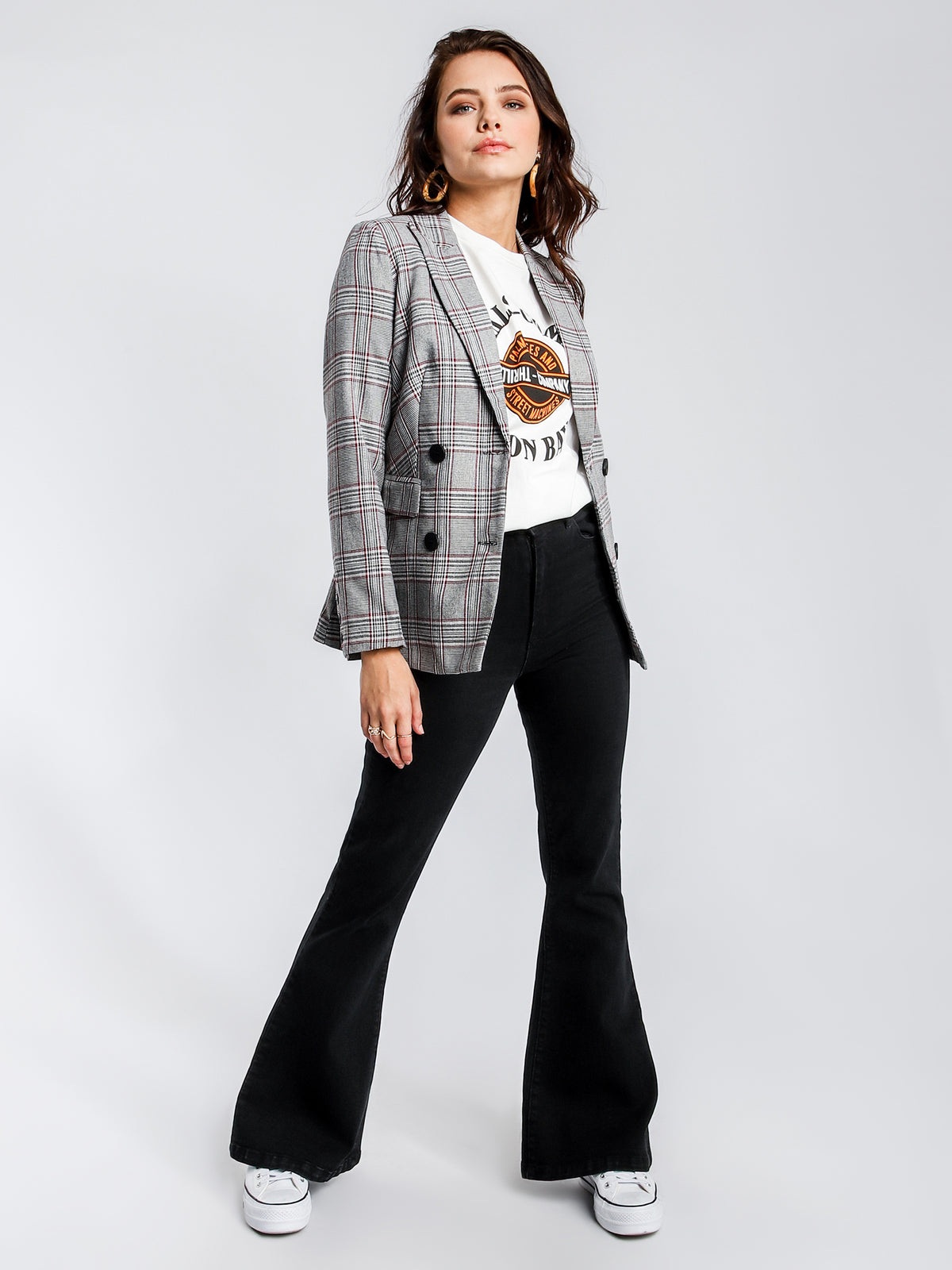Luella Blazer in Check